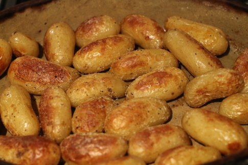 Roasted Pommes de Terre Grenailles