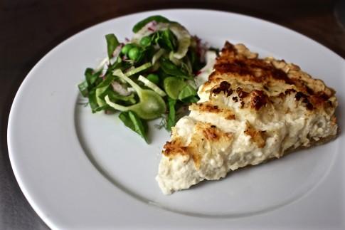 ... caramelized onion tart cauliflower and caramelized onion tart